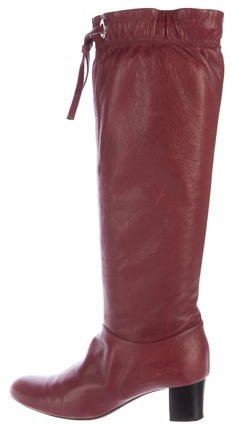 Marc Jacobs Marc Jacobs Leather Knee-High Boots