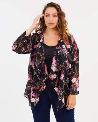 Evans Delight Print Kimono