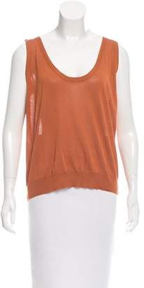 Bottega Veneta Semi-Sheer Knit Top w/ Tags