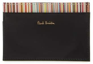 Paul Smith Multistripe Card Case