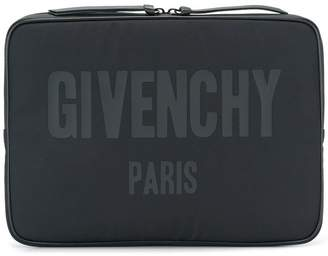 Givenchy logo print document holder