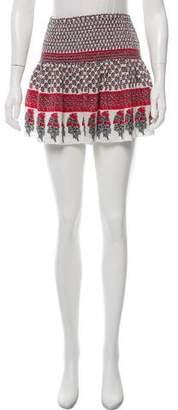 Ulla Johnson Silk Mini Skirt