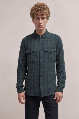 French Connection Blackwatch Double Checked Shirt