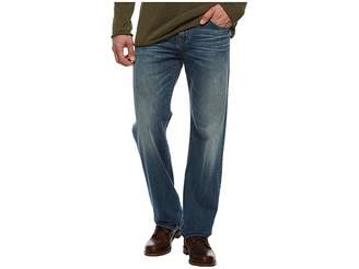 7 For All Mankind Luxe Performance Austyn Relaxed Straight Leg in Bedrock Men's Jeans