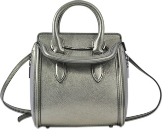 Alexander McQueen Heroine mini bag $1,116 thestylecure.com