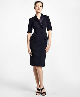 Double-Breasted Tuxedo Dress $798 thestylecure.com