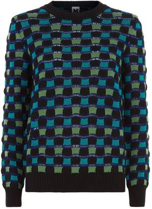 M Missoni Wool Wave Sweater
