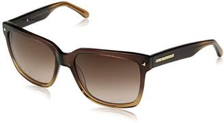 Elie Tahari Women's EL 181 BRN Wayfarer Sunglasses