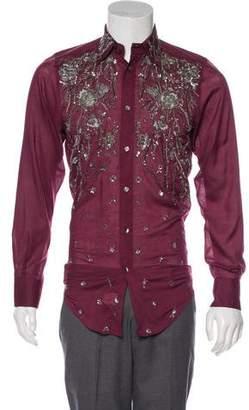 Dolce & Gabbana Embellished Button-Up Shirt