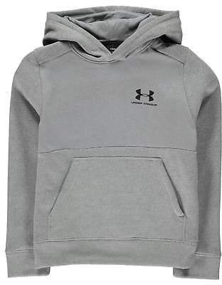 Under Armour Kids Boys Logo OTH Hoodie Junior Hoody Hooded Top Long Sleeve