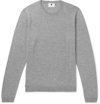 NN07 Barca Mélange Merino Wool Sweater