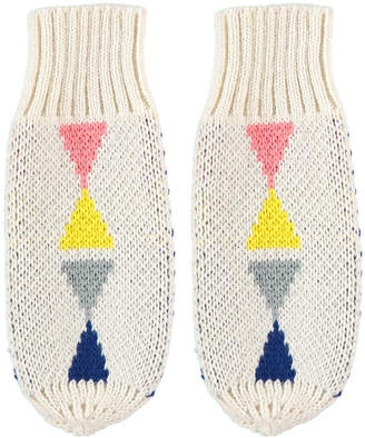 Lowie New Triangle Mittens Cream