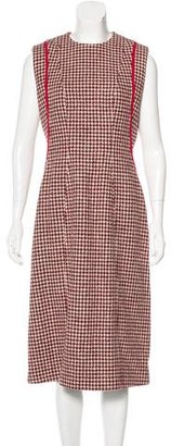 Thom Browne Wool Houndstooth Dress $405 thestylecure.com
