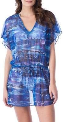 Lauren Ralph Lauren Calypso Ikat Poolside Tunic