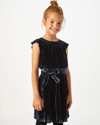 Jigsaw Silk Velvet Blend Party Dress