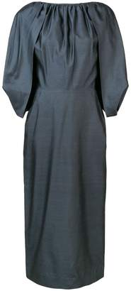 Gabriela Hearst short-sleeve midi dress