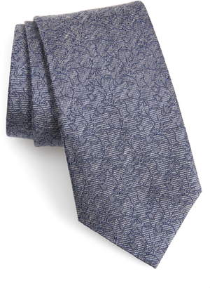 John Varvatos Floral Tie
