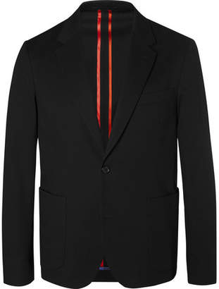 Paul Smith Black Slim-Fit Unstructured Stretch-Cotton Blazer - Men - Black