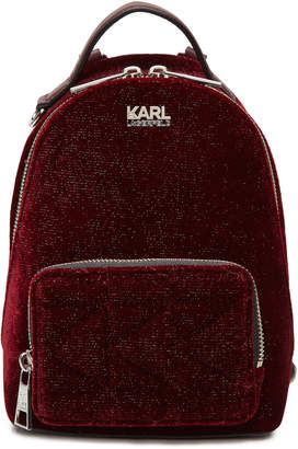Gerber Karl X Kaia Karl x Kaia Mini Velvet Backpack