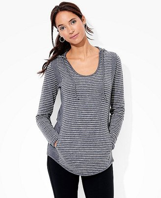 Women's Hoodie Pullover In Pima Doubleknit $88 thestylecure.com