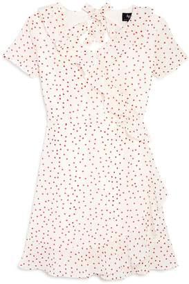 Bardot Junior Girls' Allira Ruffled Polka Dot Dress