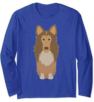 Rough Collie Not So Ugly Sweater Christmas Shirt