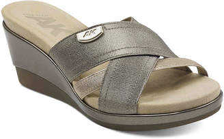 Anne Klein Sport Peggy Wedge Sandal - Women's