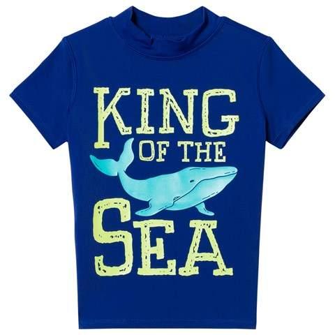 Navy King of the Sea Graphic Rashguard