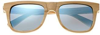 Earth Wood Hampton Sunglasses Polarized Wayfarer