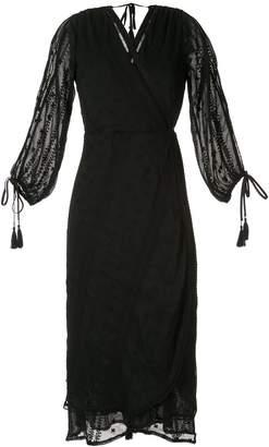 We Are Kindred Coco split sleeve midi dress