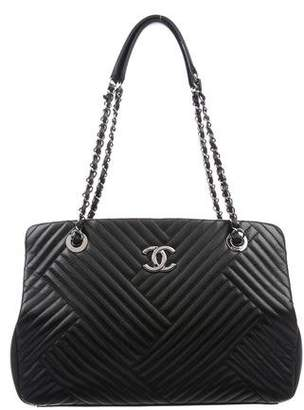 Chanel CC Crossing Shopper Tote