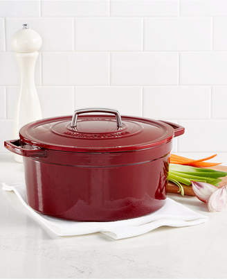 Martha Stewart Collection Collector's Enameled Cast Iron 8 Qt. Round Dutch Oven