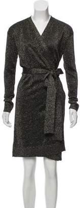 Diane von Furstenberg Fosette Midi Wrap Dress w/ Tags