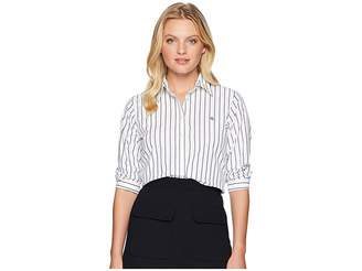 Lauren Ralph Lauren Petite No-Iron Button-Down Shirt