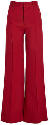 See by Chloe Wide Leg Pants with Cotton