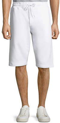 McQ Men's Dart Logo-Tape Sweat Shorts