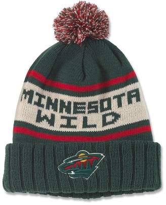 American Needle NHL Minesota Wild Pillow Line Knit Beanie