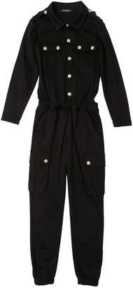 Balmain Cotton Jersey Jumpsuit