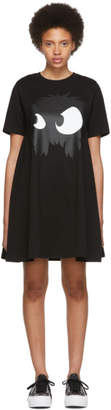 McQ Black Mad Chester Babydoll Dress