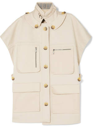 Jason Wu GREY - Gabardine Jacket - Cream
