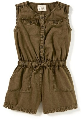 Girl's Peek Safari Romper $48 thestylecure.com
