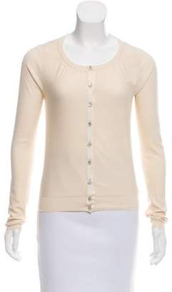 Marc by Marc Jacobs Silk Crop Cardigan