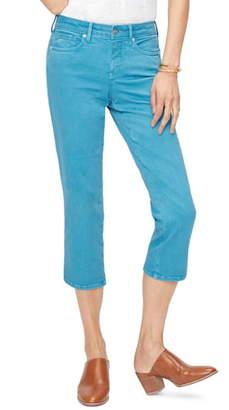 NYDJ Side Slit Capri Skinny Jeans