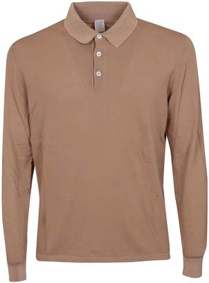 Eleventy Long Sleeved Polo Shirt