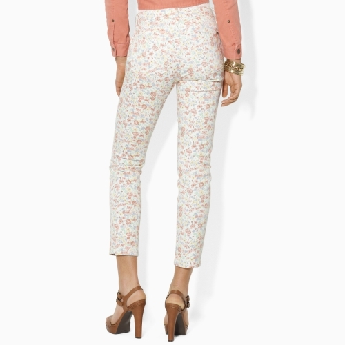 Ralph Lauren Floral Modern Ankle Jean