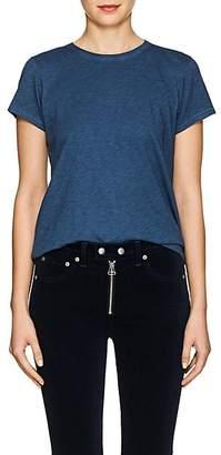 Rag & Bone Women's Slub Cotton T-Shirt - Navy
