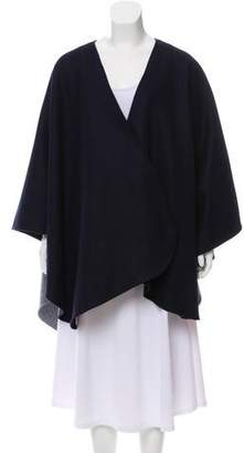 Donni Charm Belted Wool Cape w/ Tags