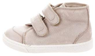 Dolce & Gabbana Boys' Leather High-Top Sneakers