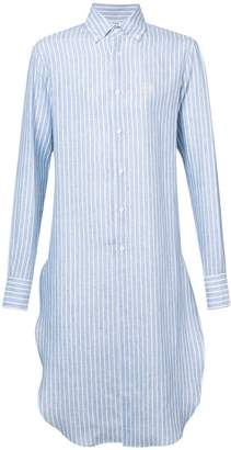 Loewe long striped shirt