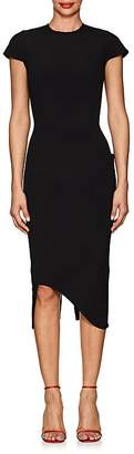 Victoria Beckham Women's Bonded Crepe Zip-Back Dress